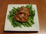 Yogurt-Marinated Chicken with Asparagus & Watercress