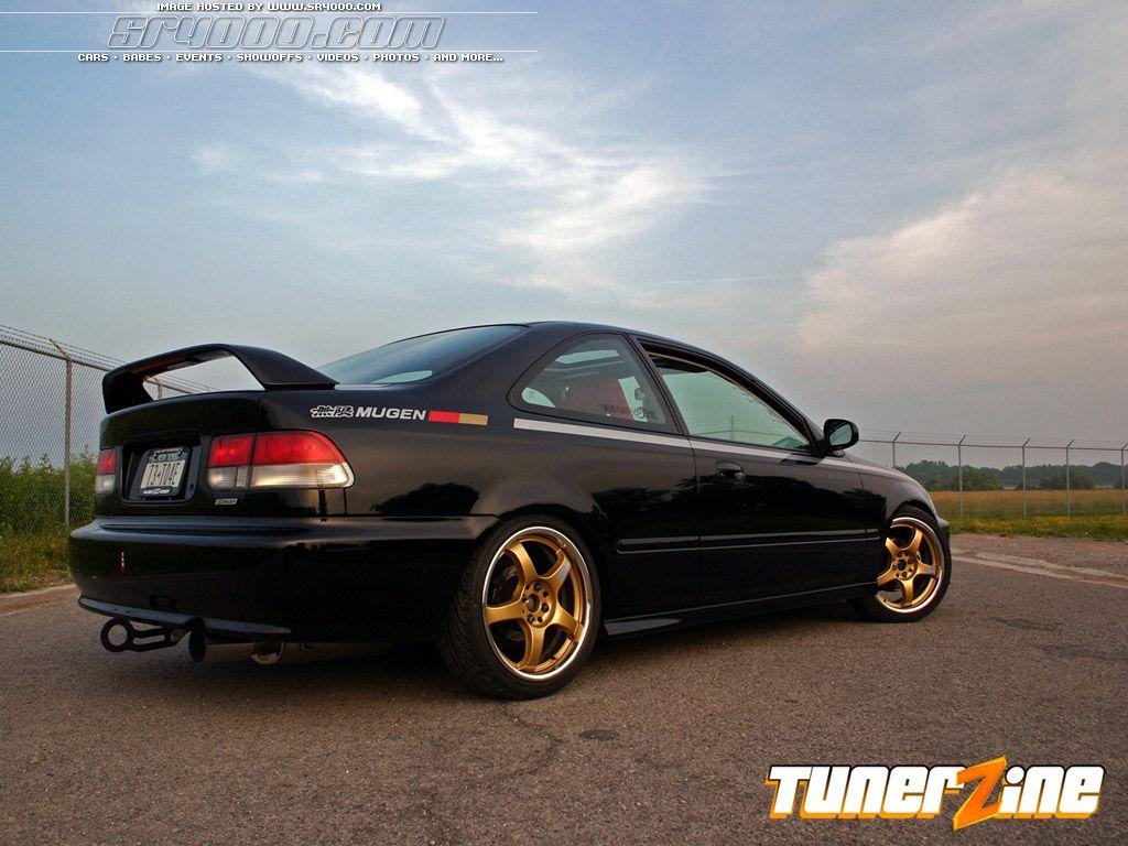 日本車, チューニングカー, ホンダ, Honda civic coupe ...