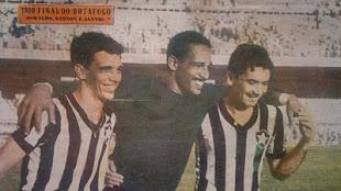 Oswaldo, Gerson e Nilton Santos