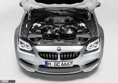 Mesin BMW M6 Gran Coupe 2013