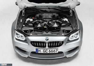 Mesin BMW M6 Gran Coupe 2013