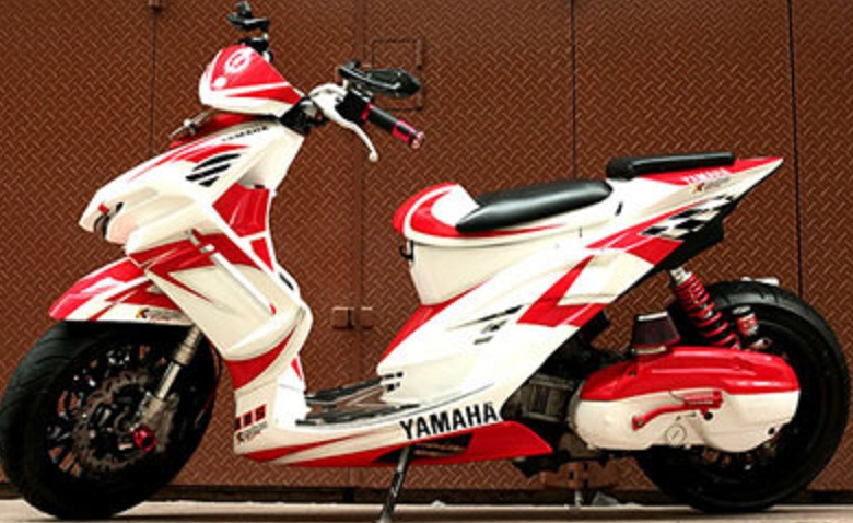 modifikasi yamaha mio sporty 2014 terkeren