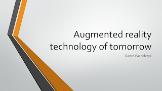 About augmented reality