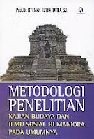 toko buku rahma: buku METODOLOGI PENELITIAN, pengarang nyoman kutha ratna, penerbit pustaka pelajar