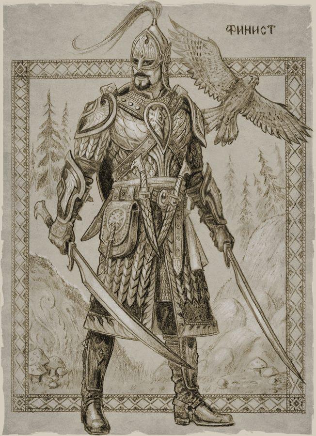 Персонажи русских былин в мир темного фэнтези