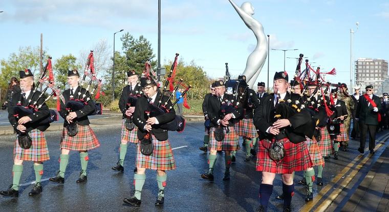 Gatwick Caledonian Pipe Band