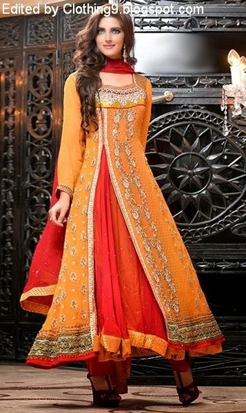 Angrakha Style Pishwas Frock