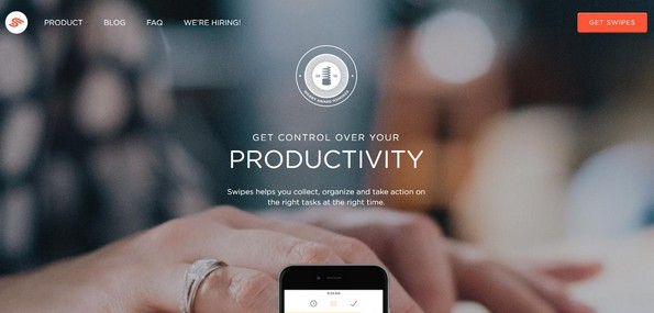 Swipes software for productivity