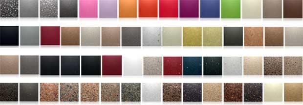 adems tiene una paleta de colores importante por lo que ofrece muchas decorativas