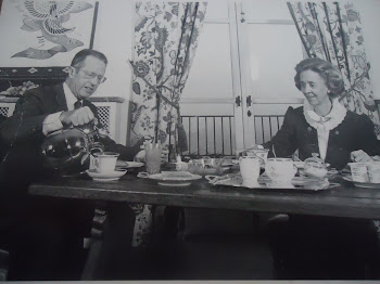 Royal Breakfast - King Baudouin and Queen Fabiola of Belgium