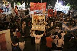 Marcha contra la Megaminería en Tucumán (1 de marzo)