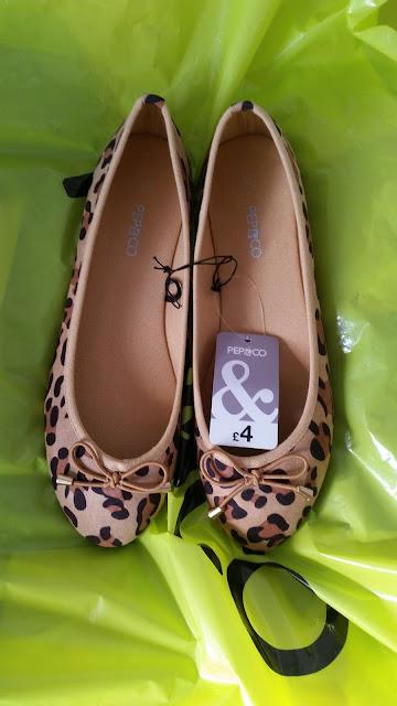 Pep & Co, Leopard Print Flats