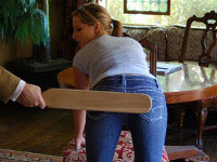 Spanking videos Firm Hand Spanking (M/f): Hitting a teacher earns pretty Kelly Morgan a paddling in The Principal's Office