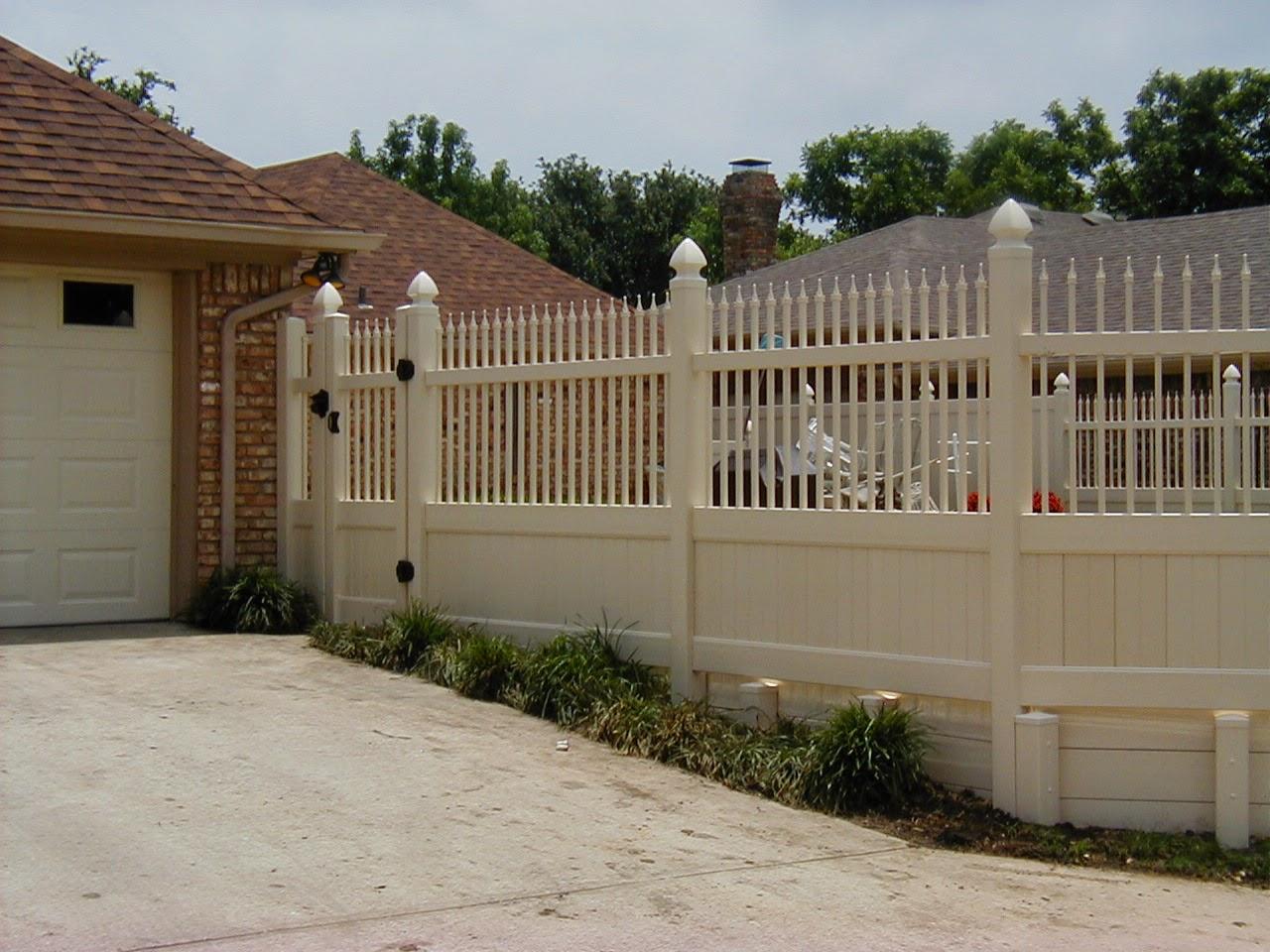 Vinyl Fence Dallas Texas