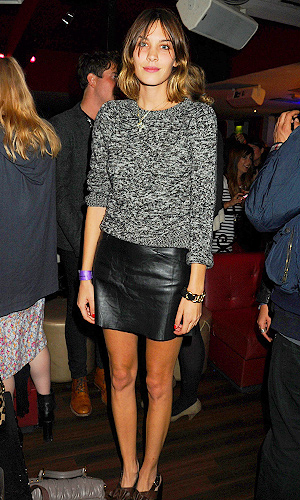 FALL 2011 TRENDS: LEATHER SKIRTS | Stylish Curves