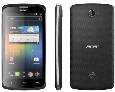Acer Liquid C harga spesifkasi, gambar dan fitur hp intel android Acer Liquid C