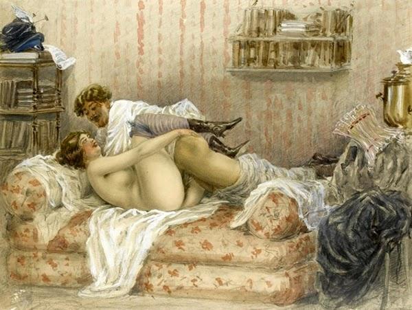 Сексуальные произведения художников