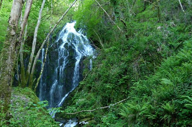 Cascada Salgueira - Ruta del Agua