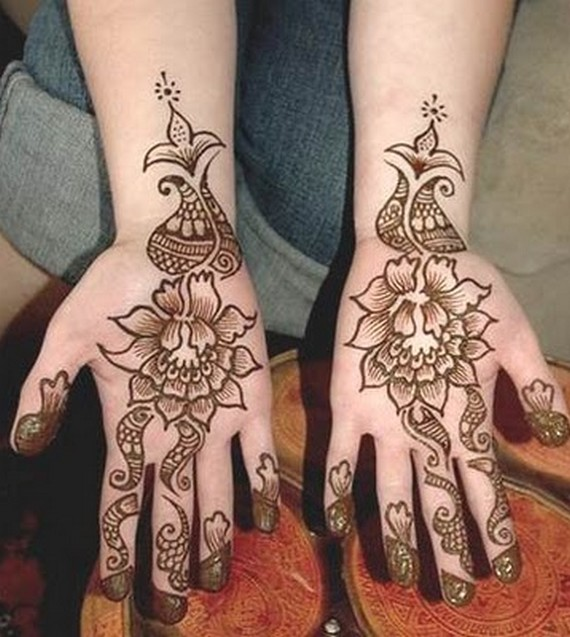 Latest Simple Mehndi Designs For Hands