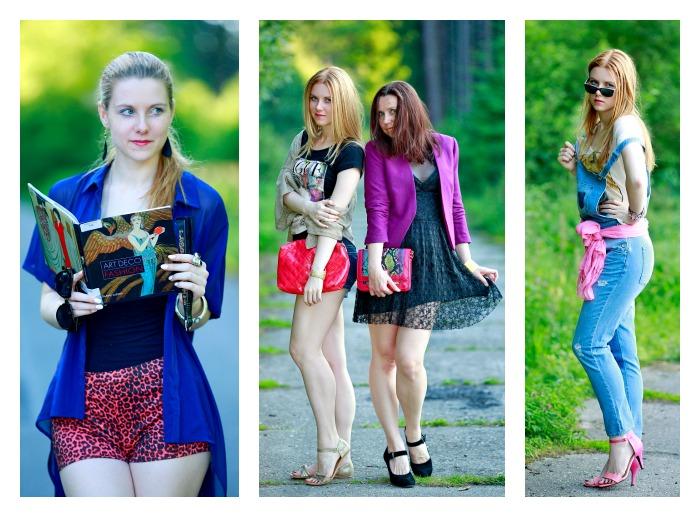 módní blogerka, džínové lacláče, lucie srbová, trendy móda