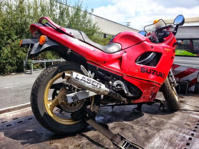DESPIECE DE MOTO SUZUKI GSX600F TIPO MOTOR N 706