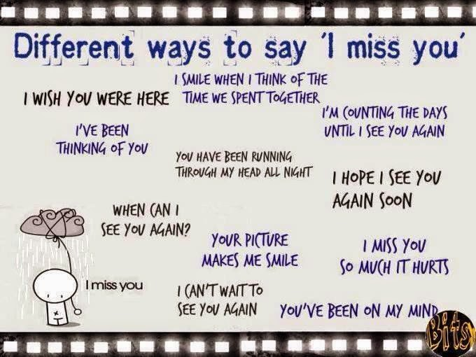 how to say i miss u in french language