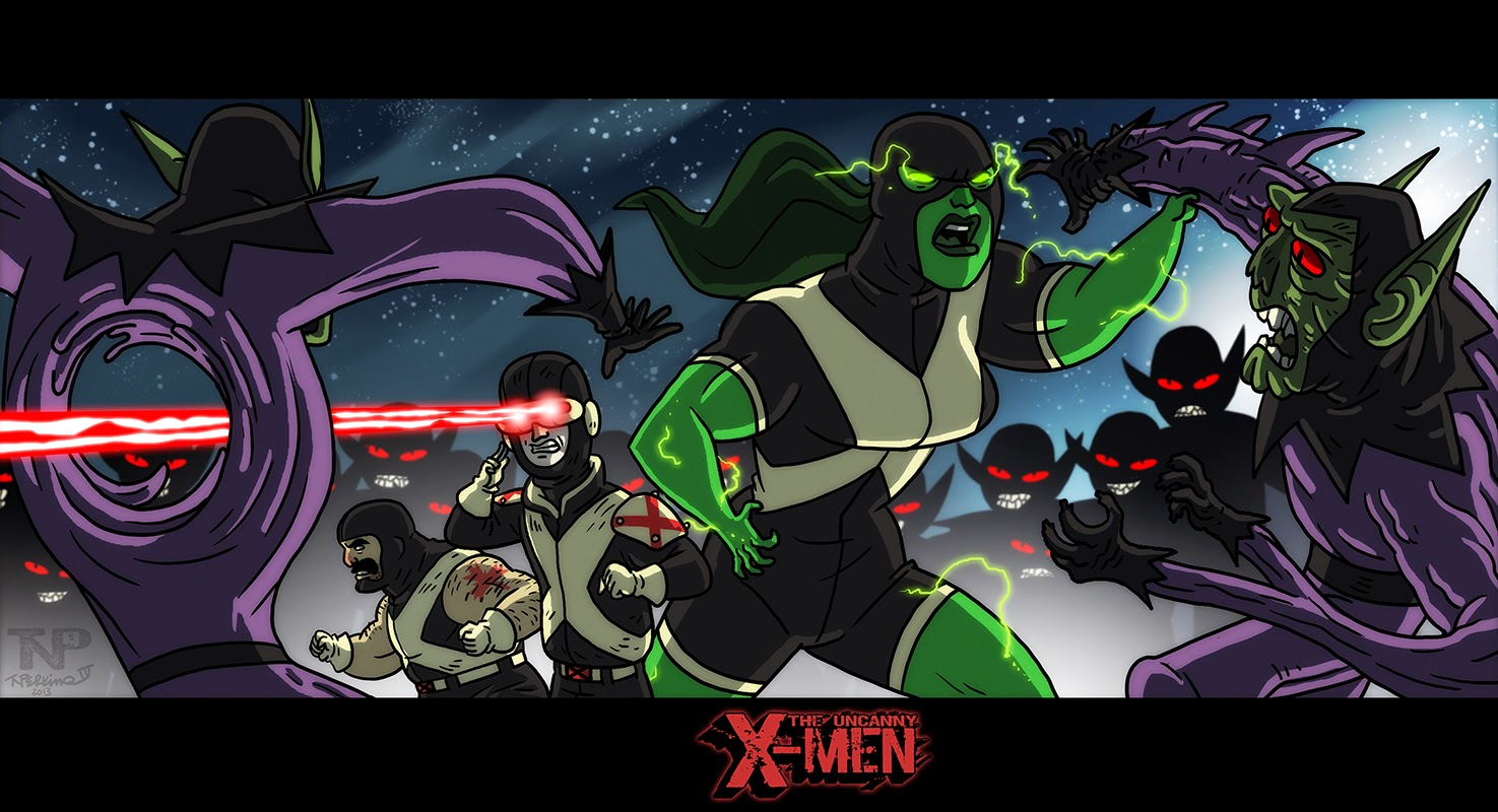 X-Men vs Skrulls 1