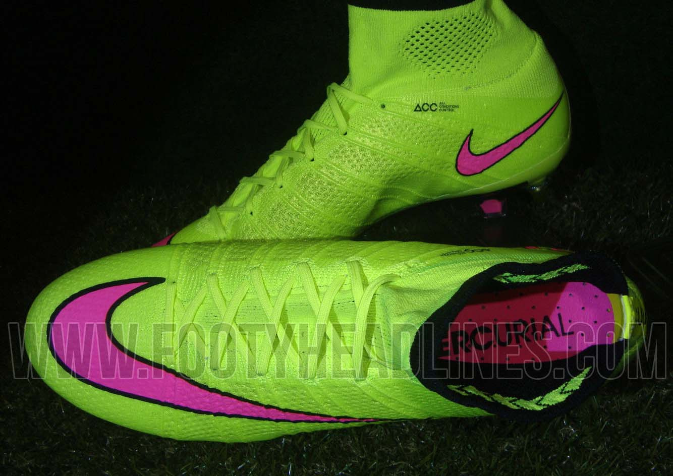 eb77980025 Nike Mercurial Superfly Green Hyper Pink - Musée des ...
