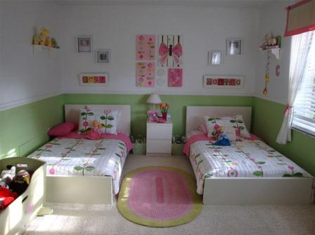 Girl's Bedroom Design
