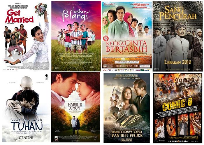 Film Indonesia Peringkat Teratas Tahun 2007 - 2014