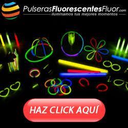 Pulseras Fluorescentes Flúor