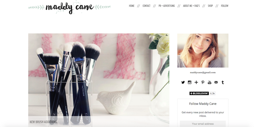 lifestyle, fashion, beauty, Maddy Cane, favourites, current obsession, blogs, websites,