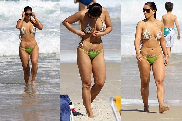 Her body gouveia nana showing bikini off