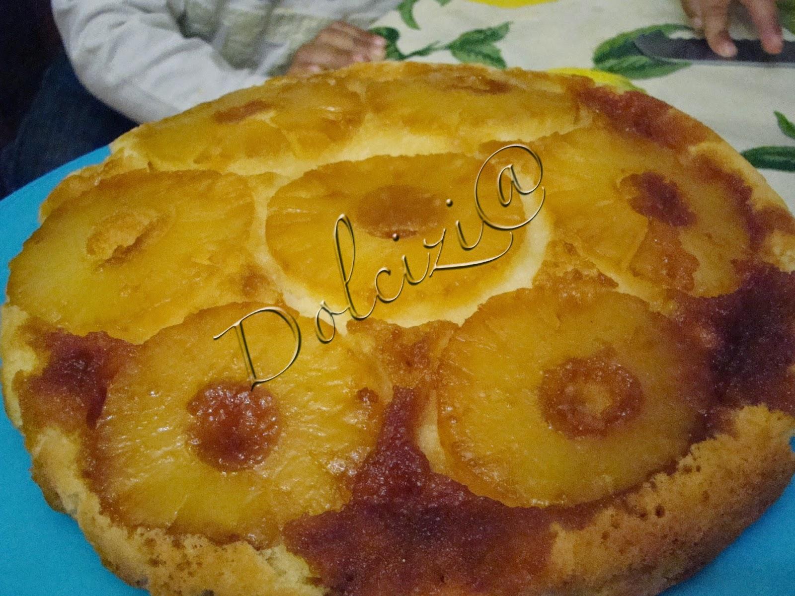 torta ananas e yogurt