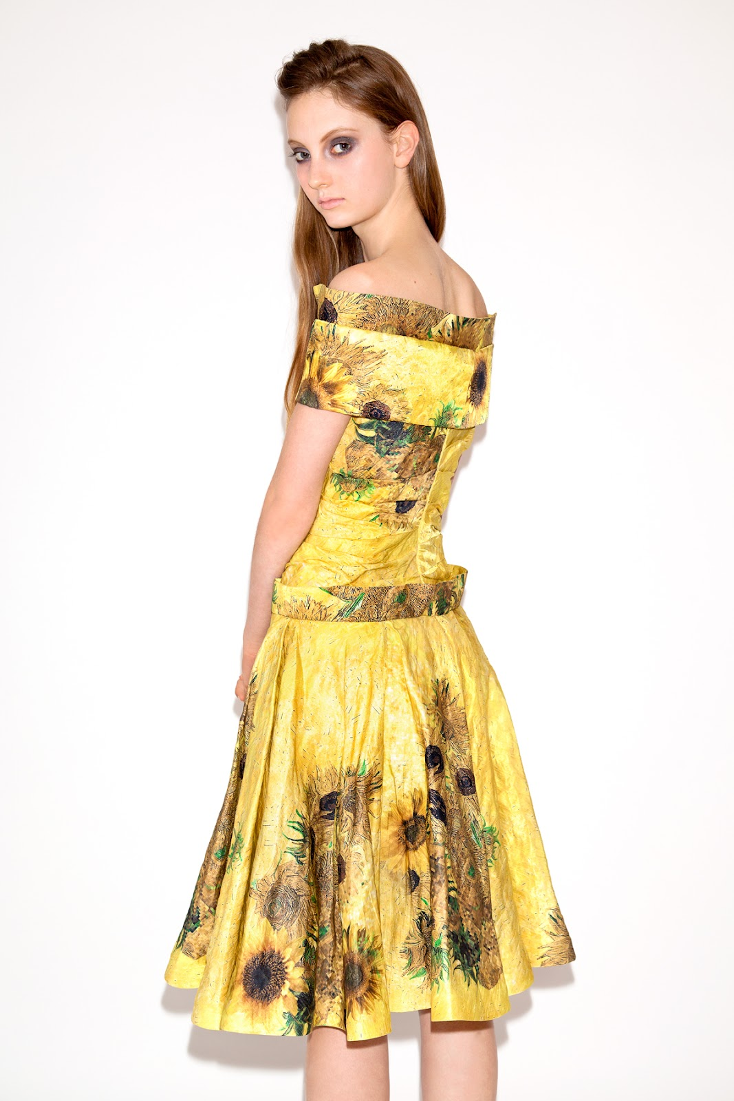 Sunflower Print Dress Fashion In New Look