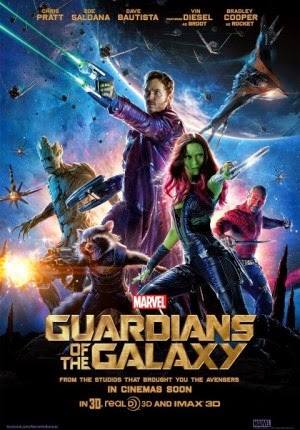 Film Guardians of the Galaxy 2014 di Bioskop