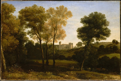 Claude Gellée - View of  La Crescenza,1648-50.
