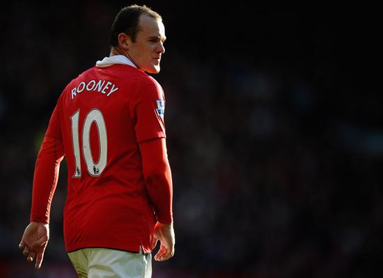 Wayne Rooney Manchester United 2014