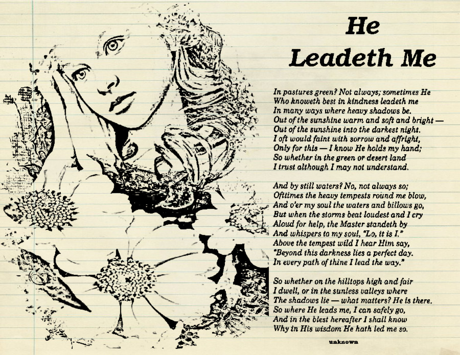 he leadeth me He leadeth me is a spiritual memoir of an american jesuit priest who was arrested as a political prisoner by the soviet union during and after wwii ciszek ends up.