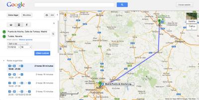 Renfe se sube al carro de Google Transit en España 31
