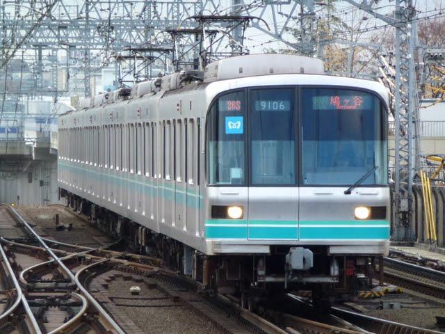 東京メトロ南北線 各停 鳩ケ谷行き1 9000系