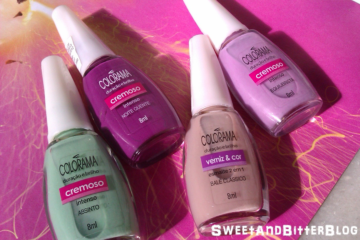 4 New Shades in Maybelline Colorama Nail Polish Swatch - Absinto ...