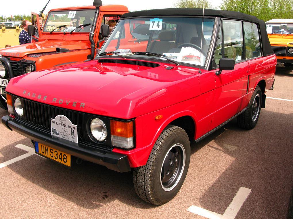 Land Rover Range Rover Convertible
