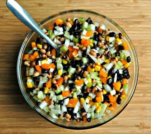 http://www.cuttingtinybites.com/2014/05/beautiful-bean-salad.html