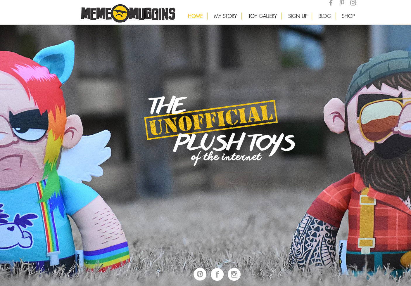 NEW WEBSITE AND TOYS!