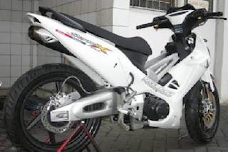 Modifikasi Motor Supra X 125 Terbaru