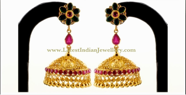 Designer Long Gold Buttalu