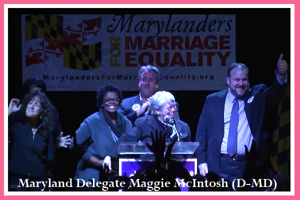 Maryland State Delegate Maggie McIntosh (D-MD)