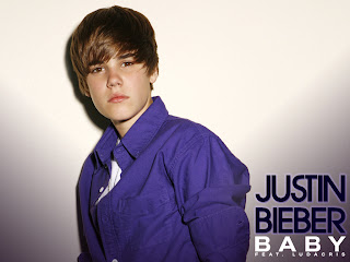 wallpaper of justin bieber baby