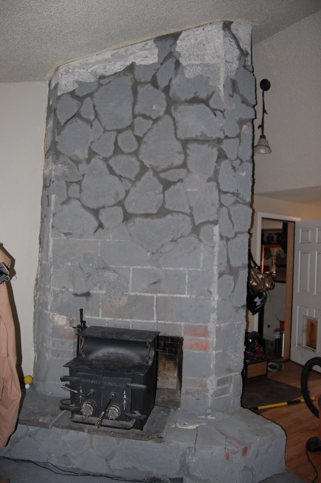 lava rock fireplace remodel best fireplace 2017